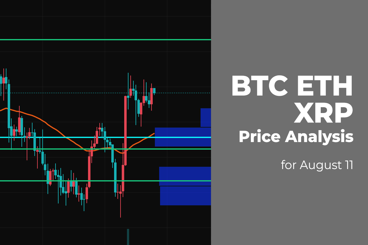 BTC, ETH, and XRP Price Analysis for August 11