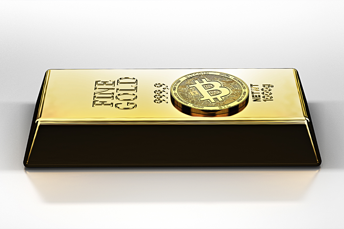 Major Bitcoin Rival, Gold, Drops, While BTC Breaks Above $41,000