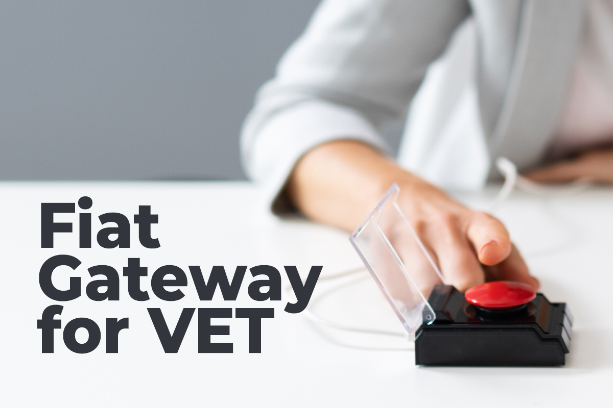 VeChain Partners Simplex to Enable Seamless On-Ramp for VET