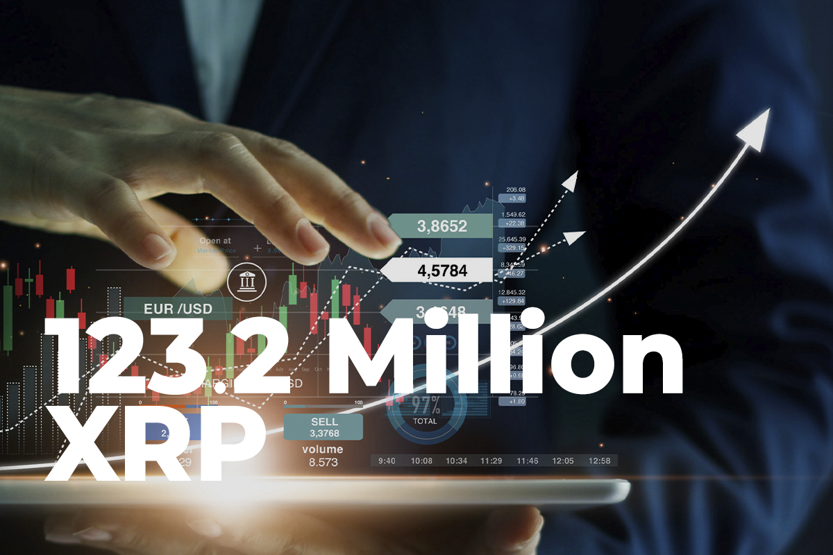 123.2 Million XRP Wired by Ripple and Top Exchanges, While Coin Remains Above $1