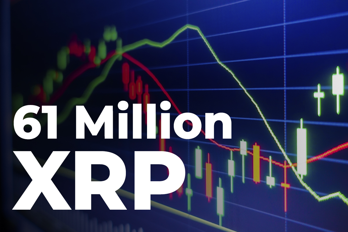 61 Million XRP Transferred by Major Exchanges, While XRP Spikes to $1.34