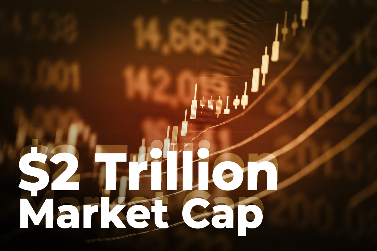 Crypto Market Back at $2 Trillion Market Cap as Bitcoin, ADA, XRP, DOGE Rise