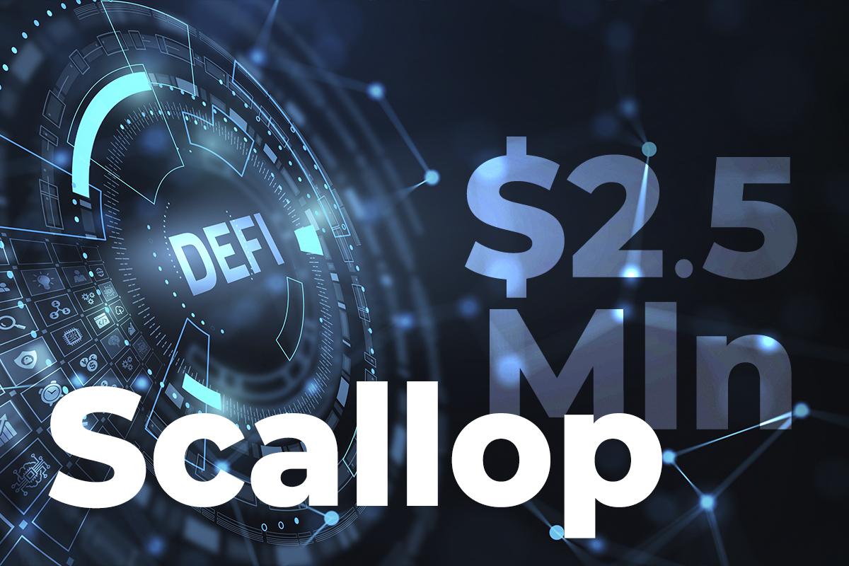 DeFi App Scallop Set To Secure $2.5 Mln in Funding From Top VCs