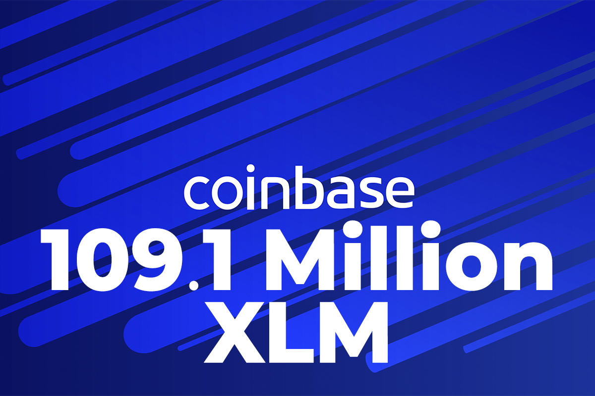 109.1 Million XLM Shifted to Coinbase from Anonymous Wallets as XLM Moves Up