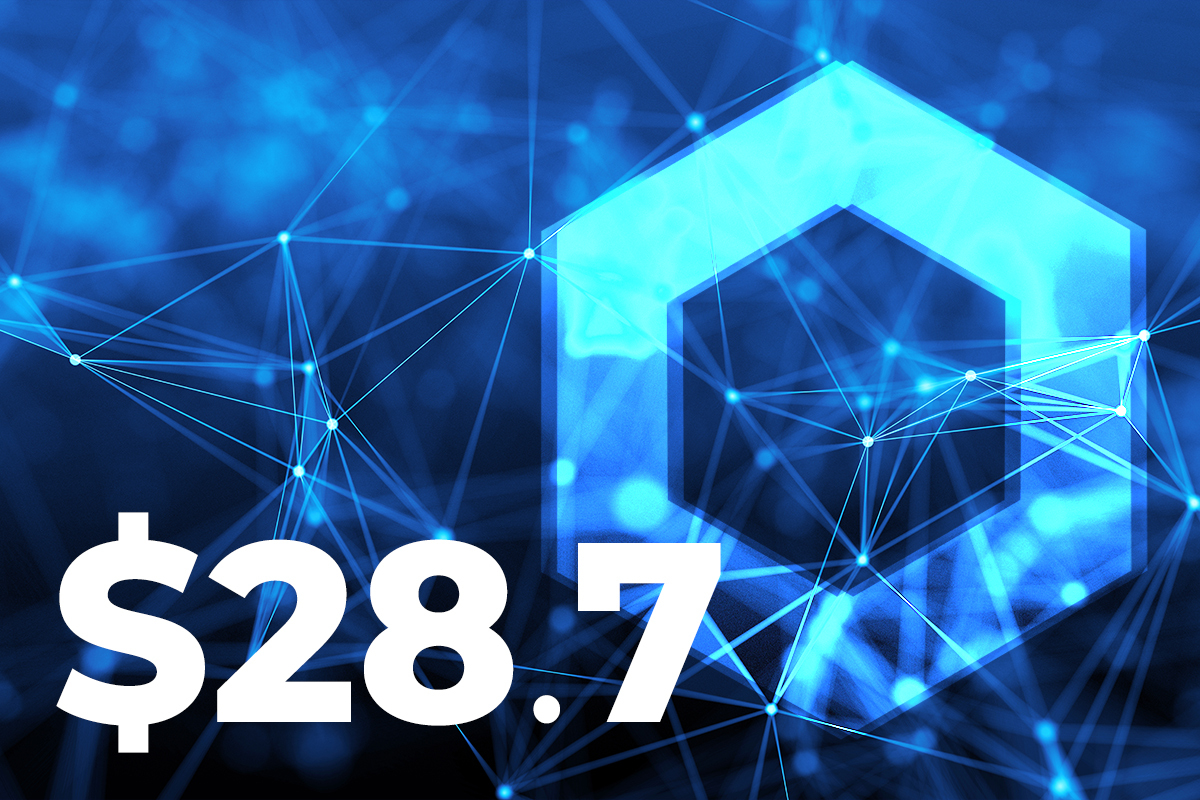 LINK Regains $28.7 as Network Address Activity Soars to 3-Month High