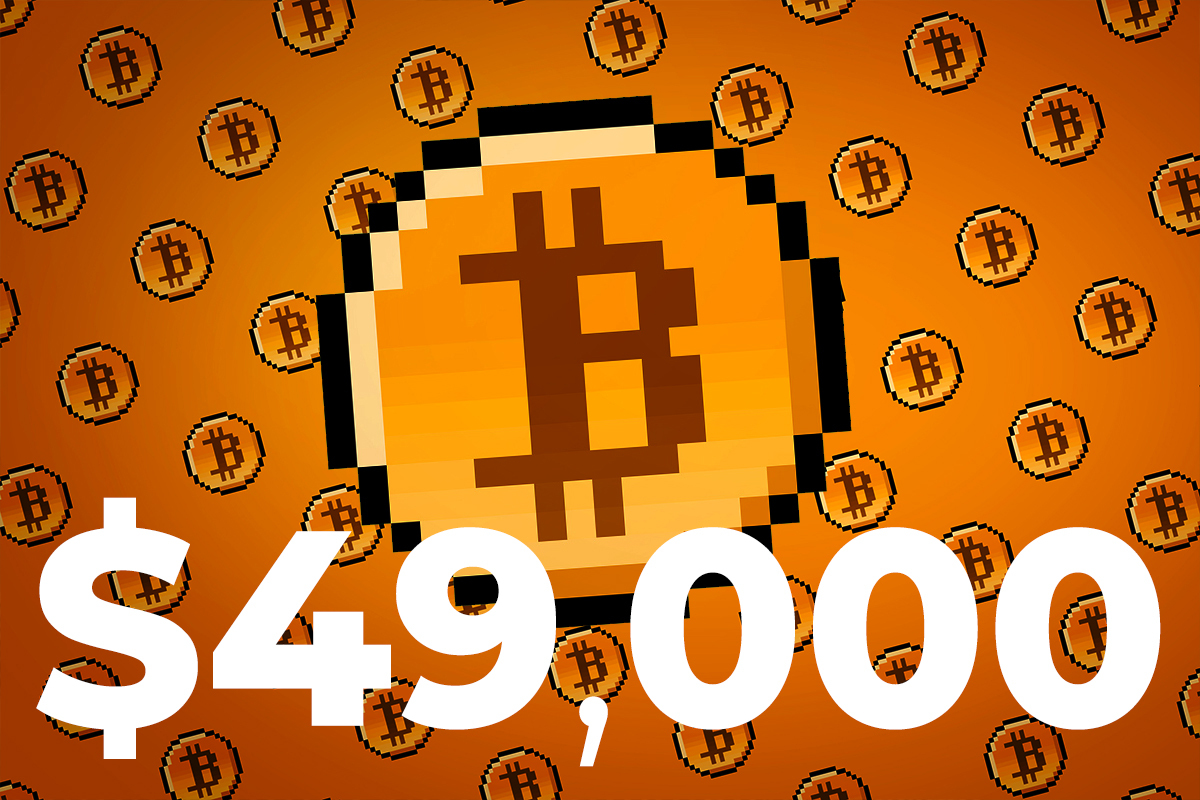 Bitcoin Retakes $49,000 After Hitting 3-Month High Day Earlier