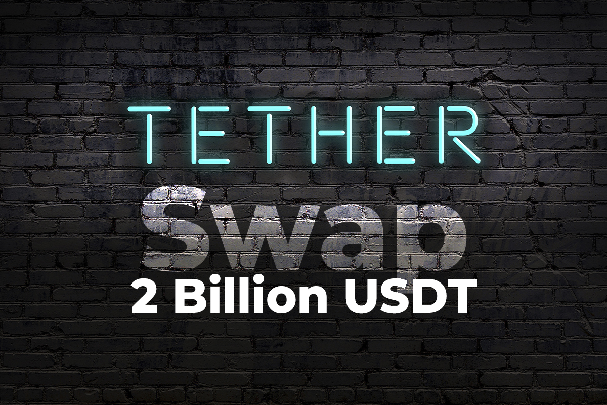 Tether Performing 2 Billion USDT Swap