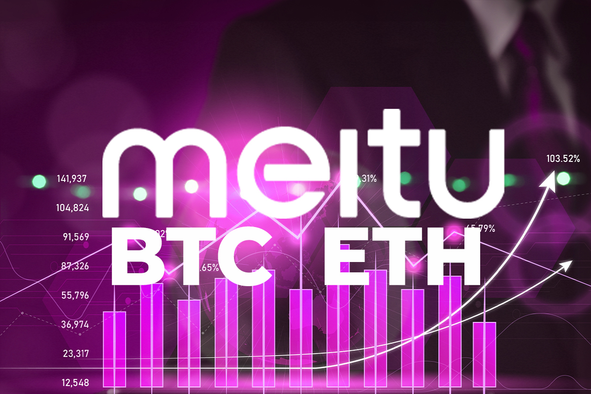 BTC, ETH Holdings of First Chinese Tech Company Meitu to Buy Crypto Rise 40%