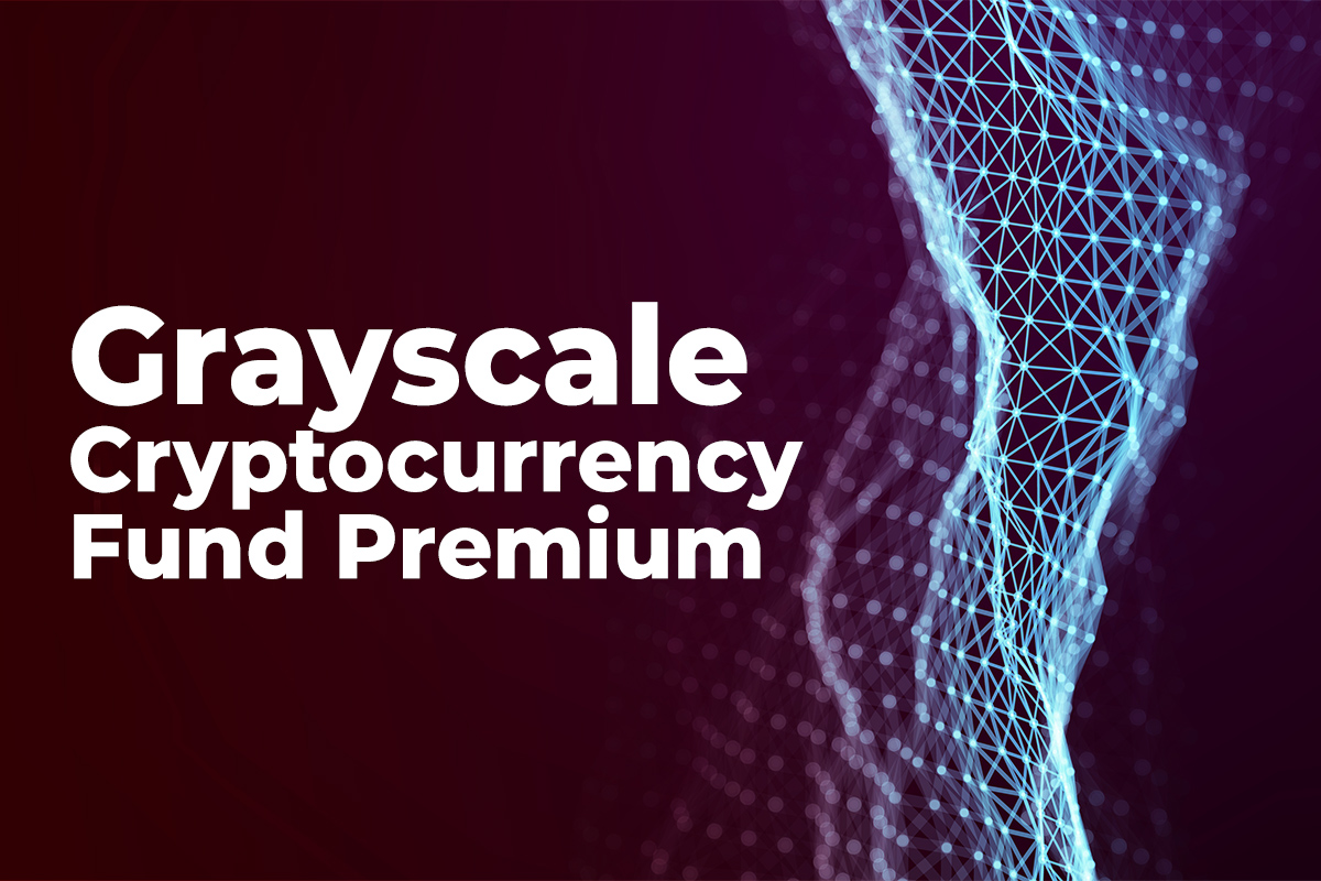 Grayscale Cryptocurrency Fund Premium Hit Negative