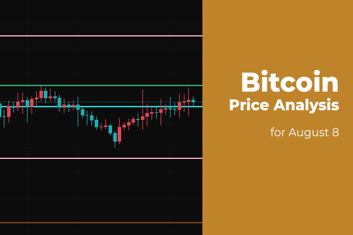 Bitcoin (BTC) Price Analysis for August 8