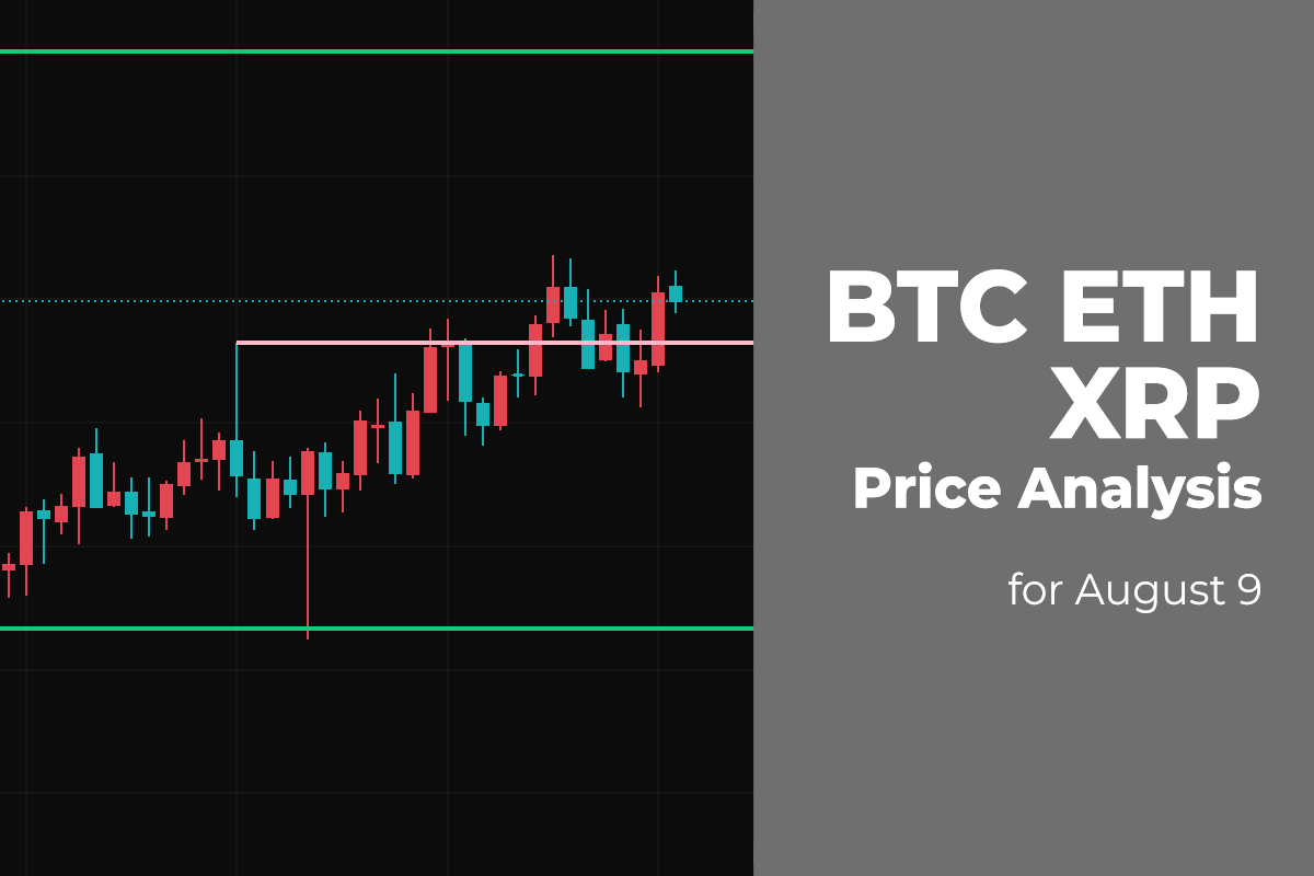 BTC, ETH, and XRP Price Analysis for August 9
