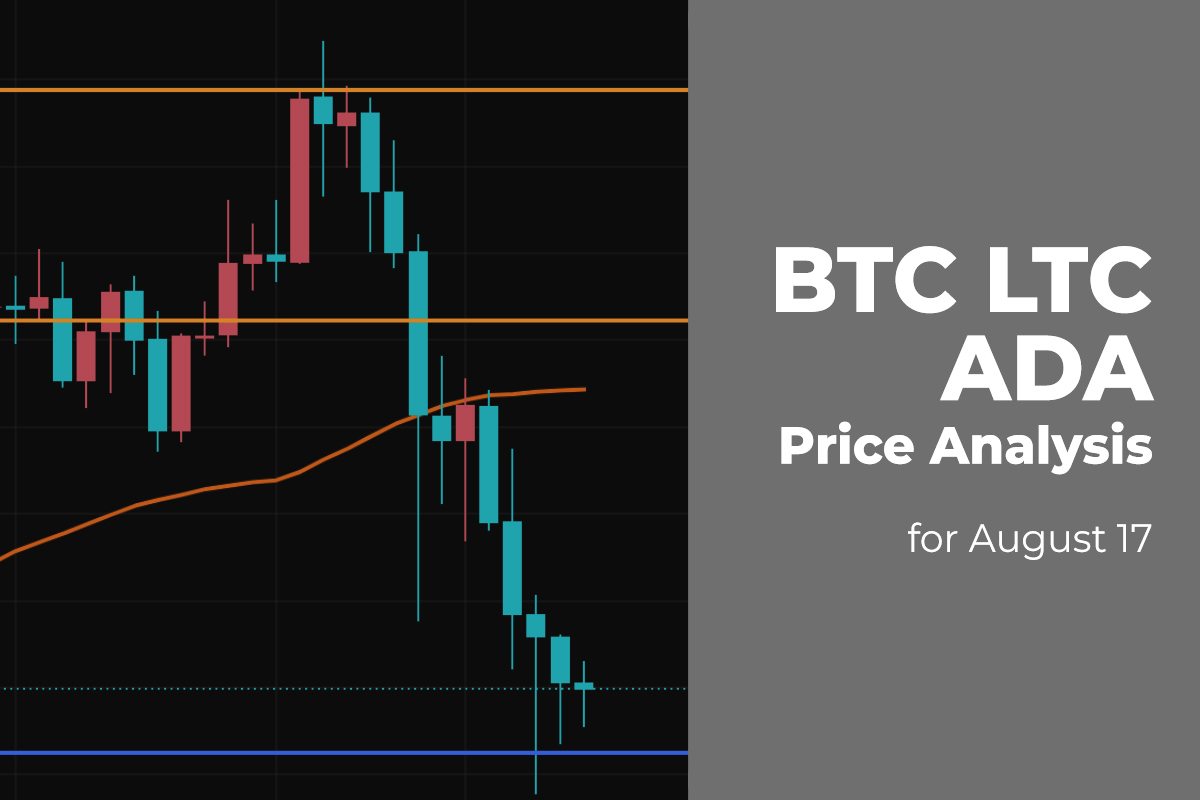 BTC, LTC, and ADA Price Analysis for August 17