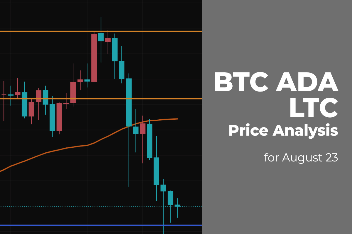 BTC, ADA, and LTC Price Analysis for August 23