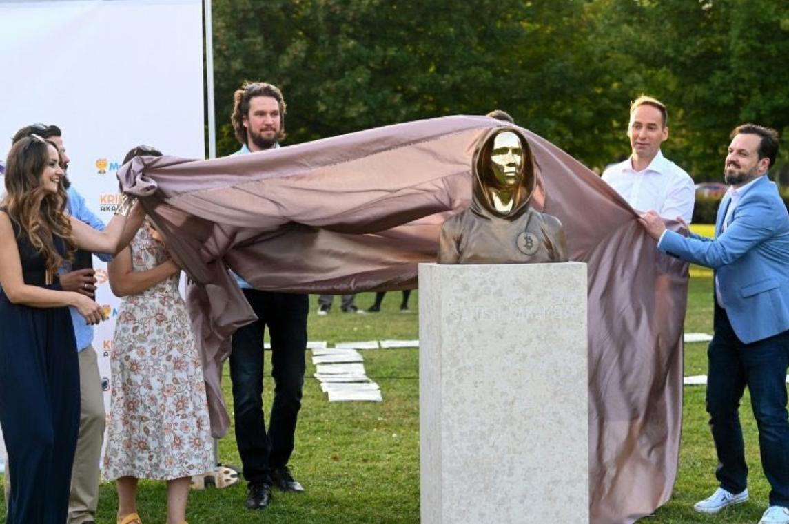 Satoshi Nakamoto Statue Unveiled in Hungary