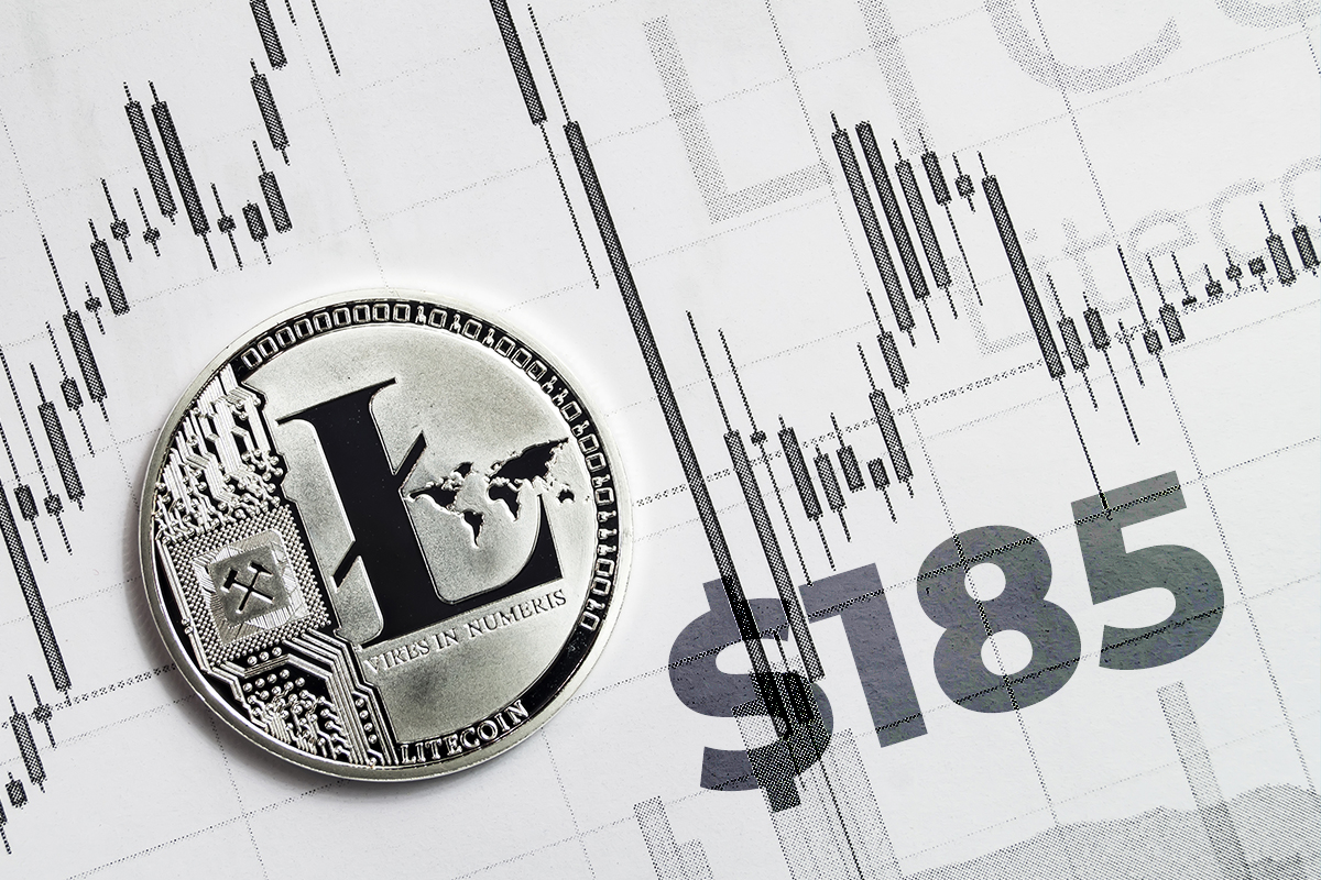 Major Litecoin Resistance Might Appear On $185 According To On-Chain Data