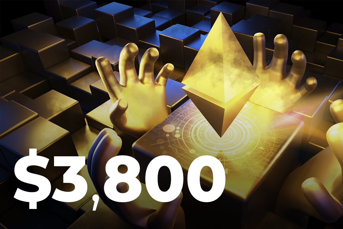 Three Reasons Why Ethereum Surged to $3,800 Earlier Today