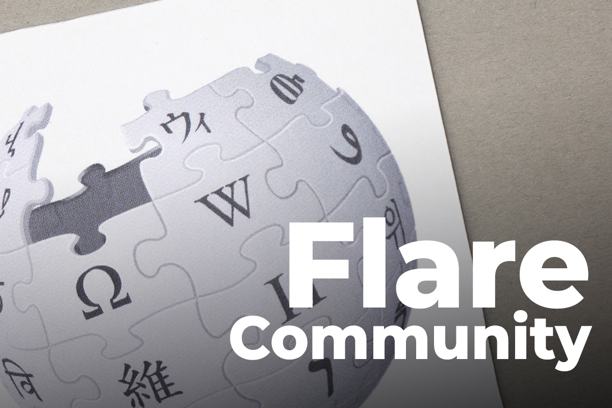 Flare Community To Have Its Own Wikipedia: Details
