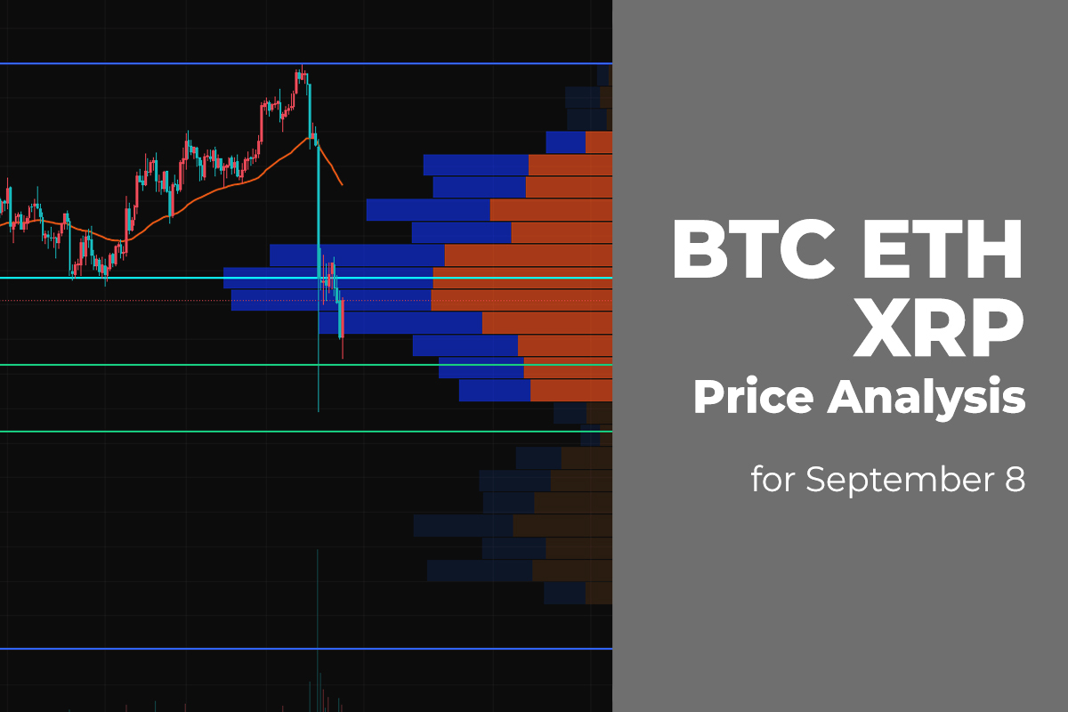 BTC, ETH, and XRP Price Analysis for September 8