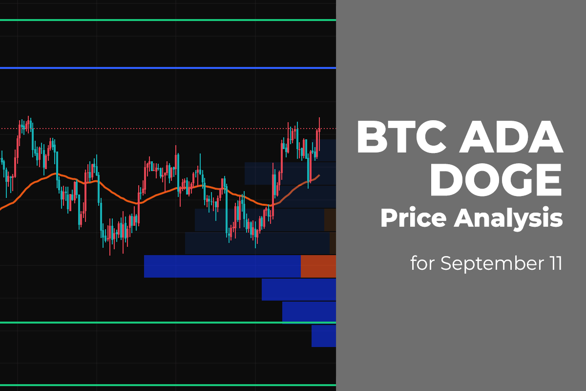 BTC, ADA, and DOGE Price Analysis for September 11