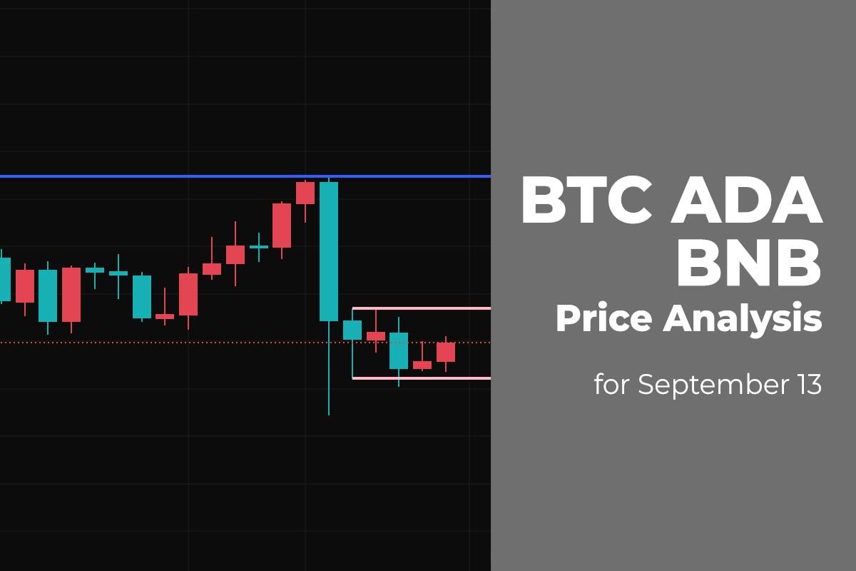 BTC, ADA, and BNB Price Analysis for September 13