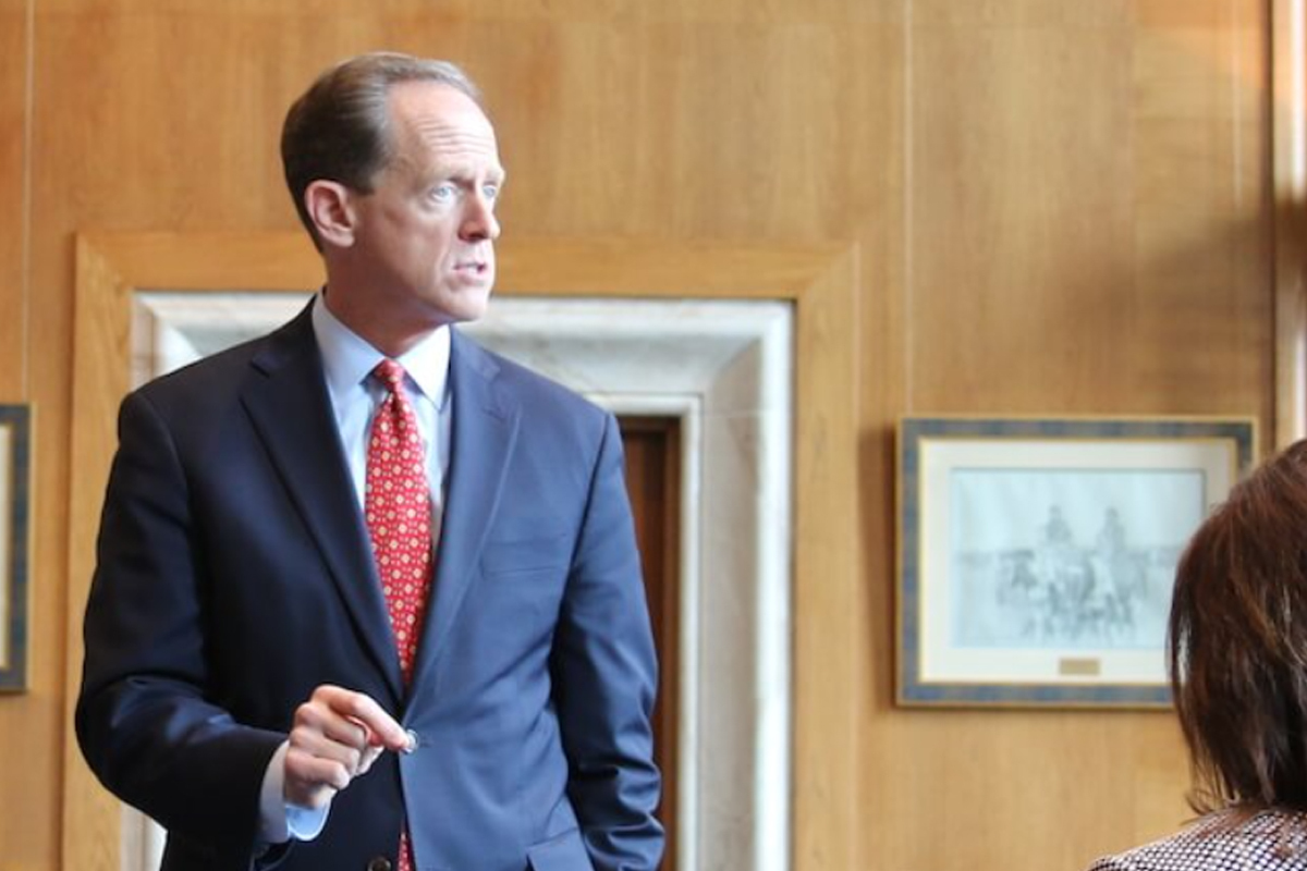 Senator Pat Toomey Wants SEC to Provide Clarity As to Which Crypto They View as Security