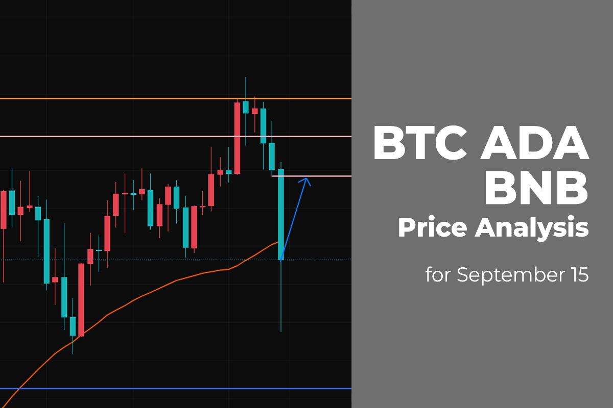 BTC, ADA, and BNB Price Analysis for September 15