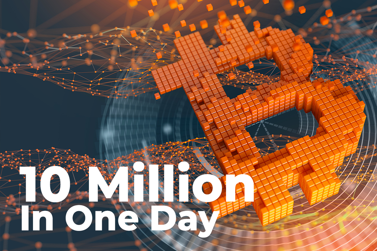 Large Transactions On Bitcoin Reached 10 Million In One Day But It Might Be Harmful To Market
