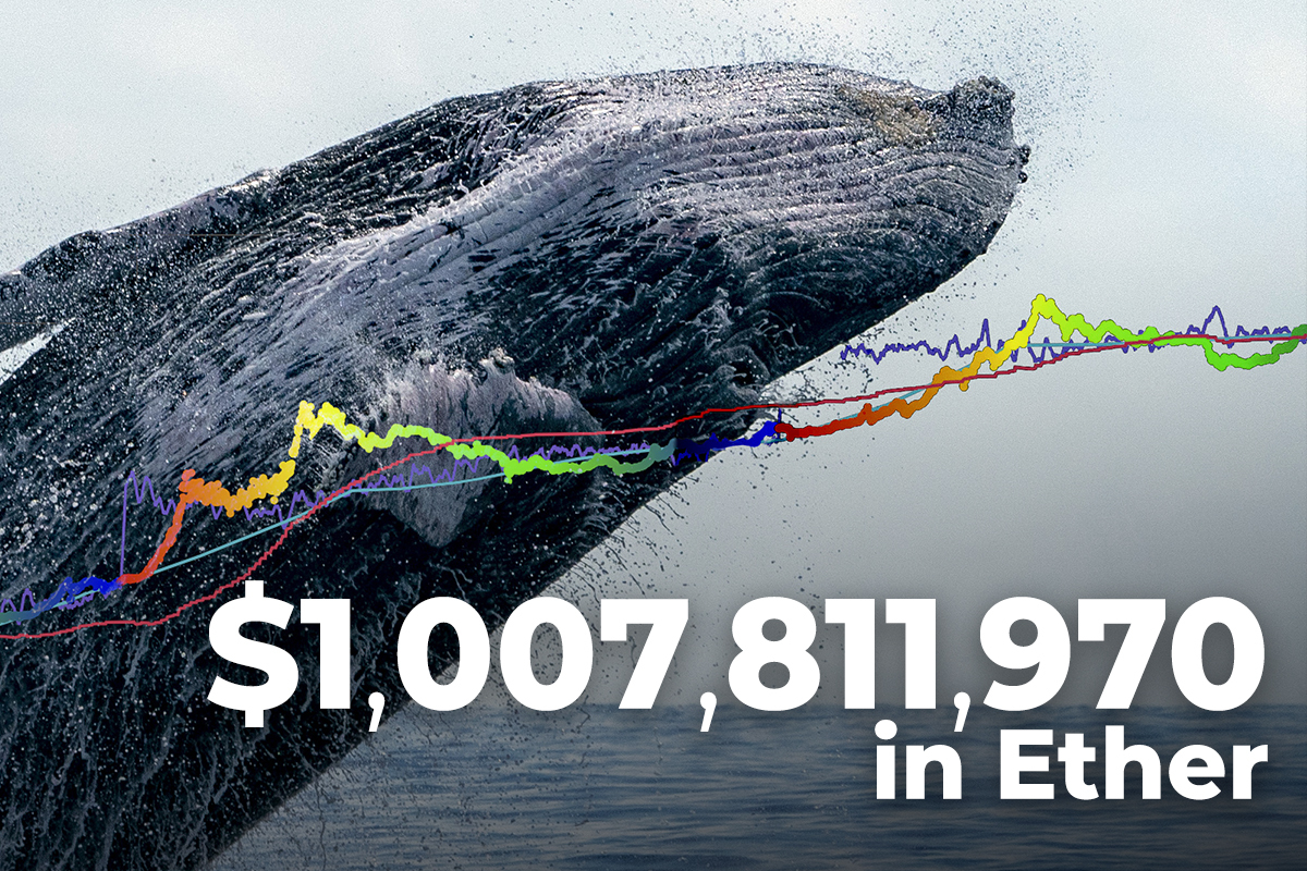 $1,007,811,970 in Ether Shifted by Whales and Major Crypto Exchanges
