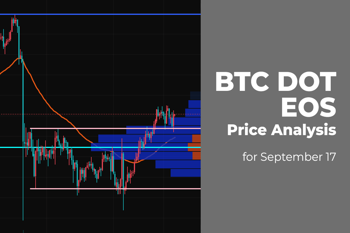 BTC, DOT, and EOS Price Analysis for September 17