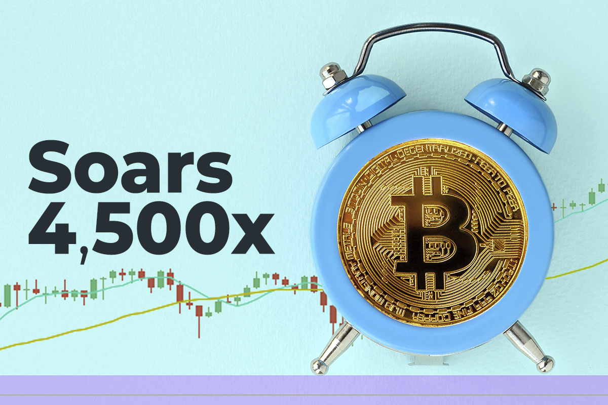 Bitcoin Contained in Just Activated Satoshi-Era Wallet Soars 4,500x by Now