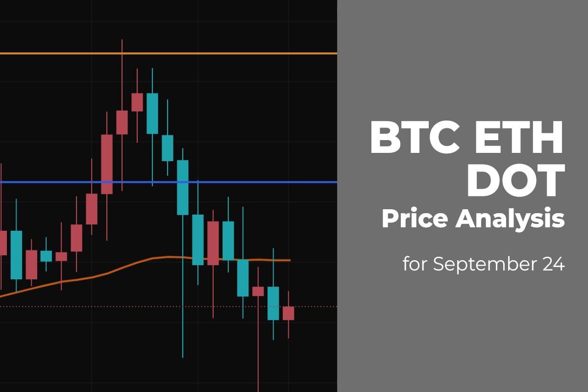 BTC, ETH, and DOT Price Analysis for September 24