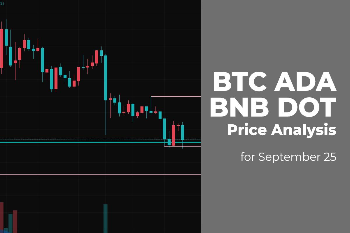 BTC, ADA, BNB and DOT Price Analysis for September 25