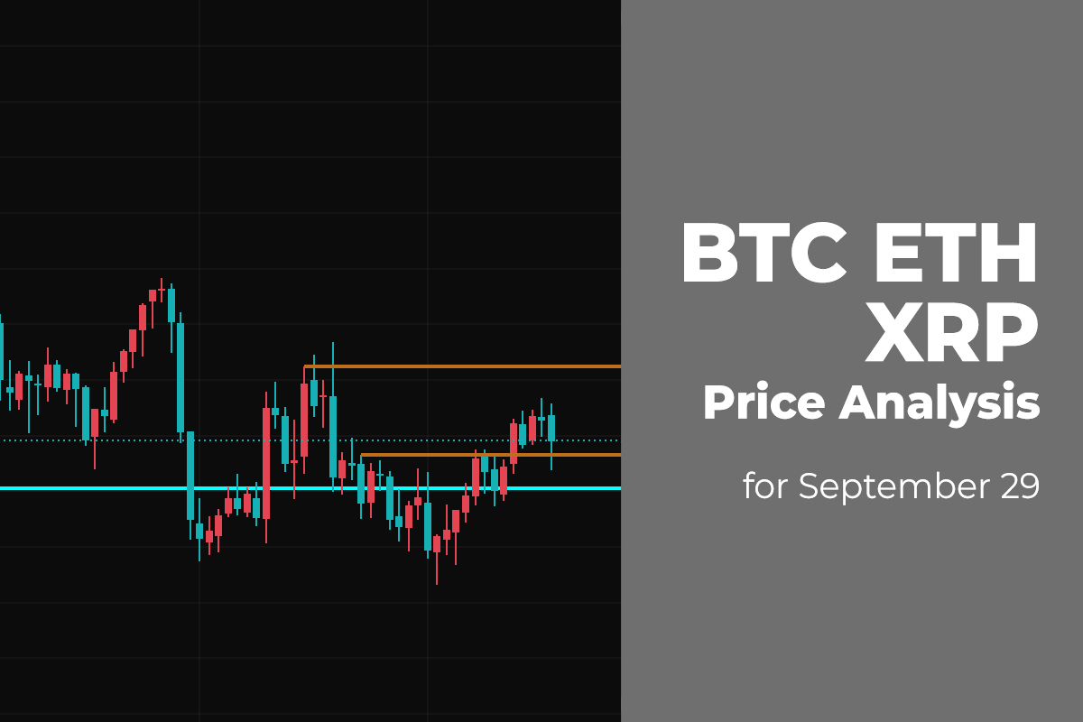 BTC, ETH, and XRP Price Analysis for September 29
