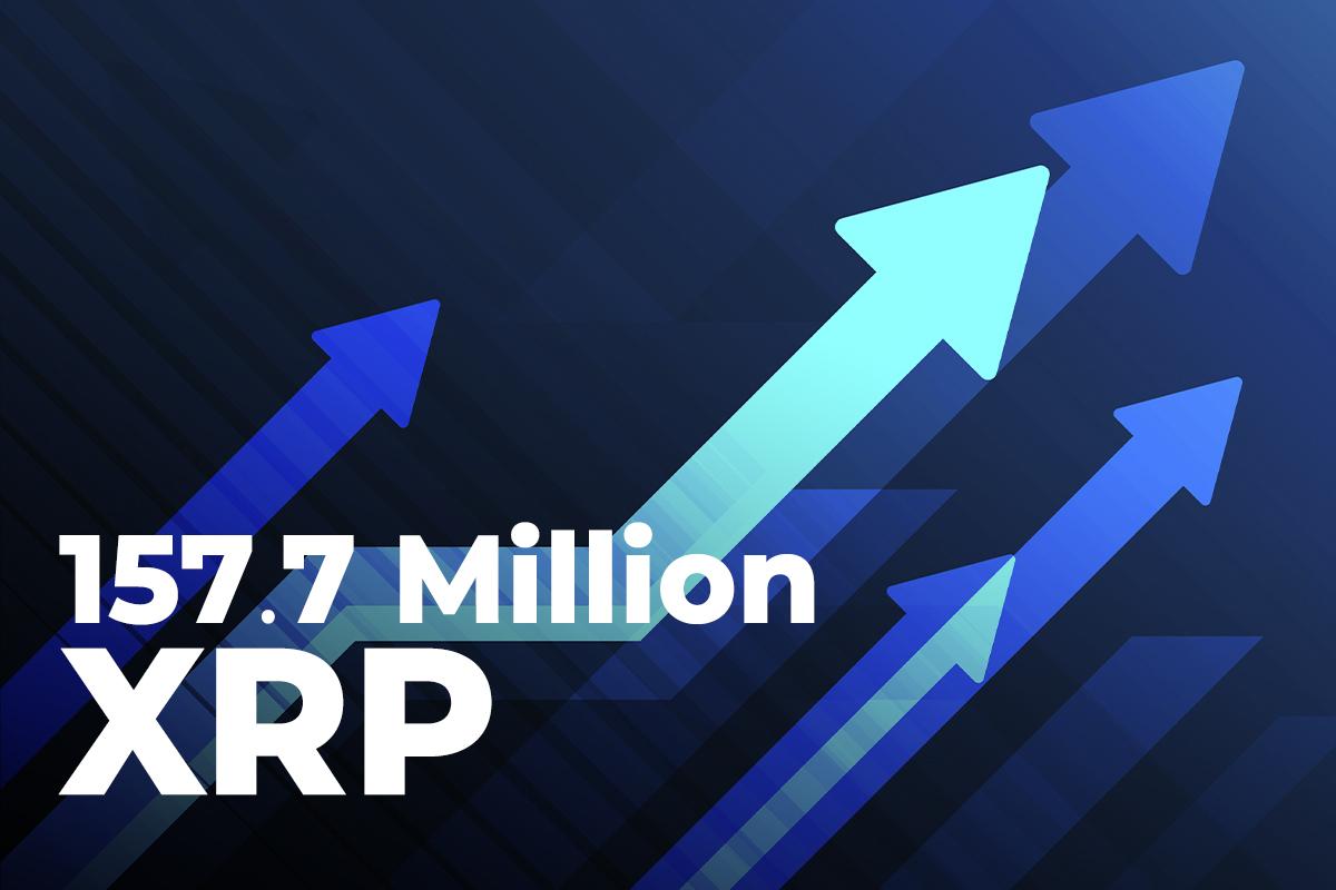 157.7 Million XRP Pushed Between Large Crypto Platforms