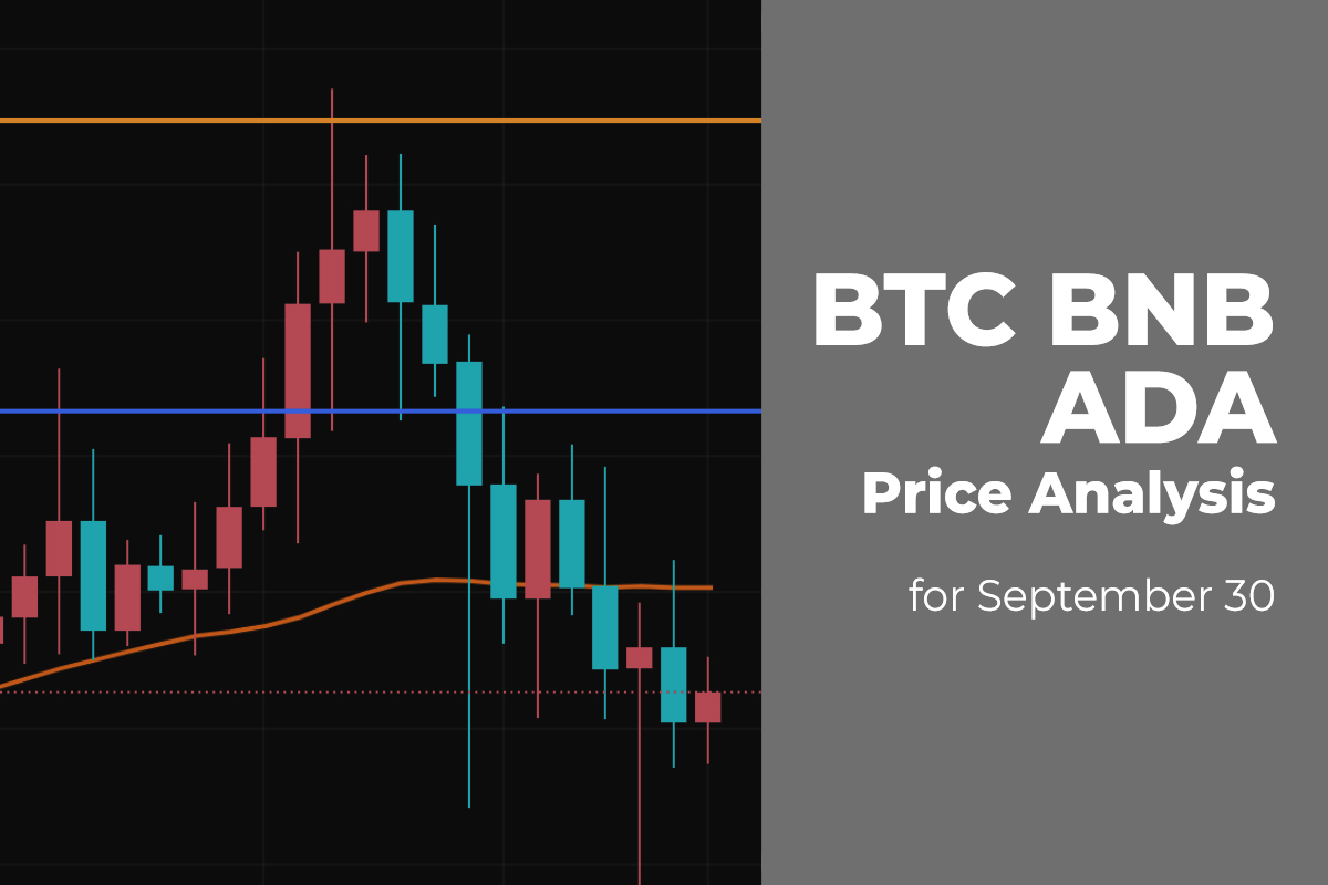 BTC, BNB, and ADA Price Analysis for September 30