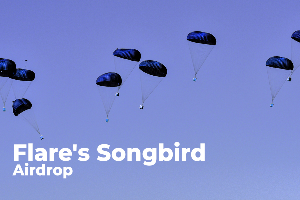 Flare's Songbird Airdrop Now Supported by One More Tier-1 Exchange