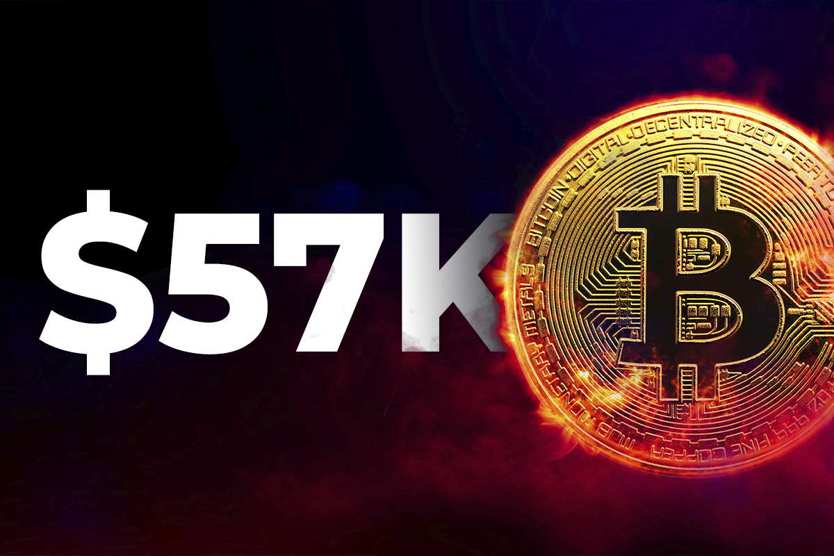 Bitcoin Hits $57K, Fully Recovering from Elon Musk-Driven Correction