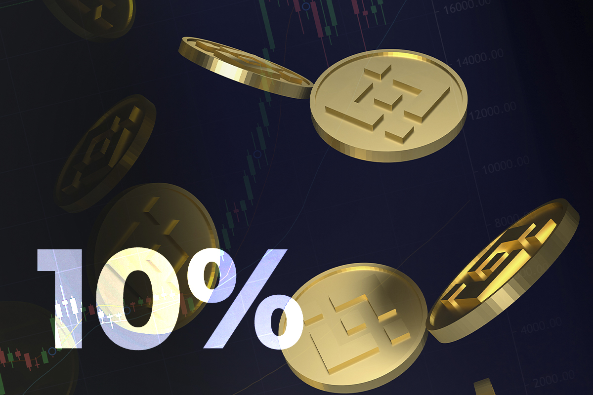 Binance Coin (BNB) Spikes 10 Percent on Announcement About $1 Billion Growth Fund