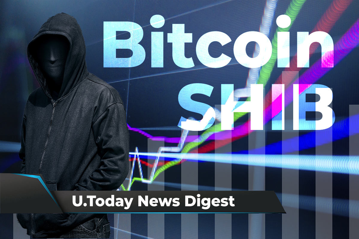 SHIB Soars to 11th Place on CoinGecko, Bitcoin Targets $80,000, Ripple to Invest $44 Million into Solar Energy Projects: Crypto News Digest by U.Today