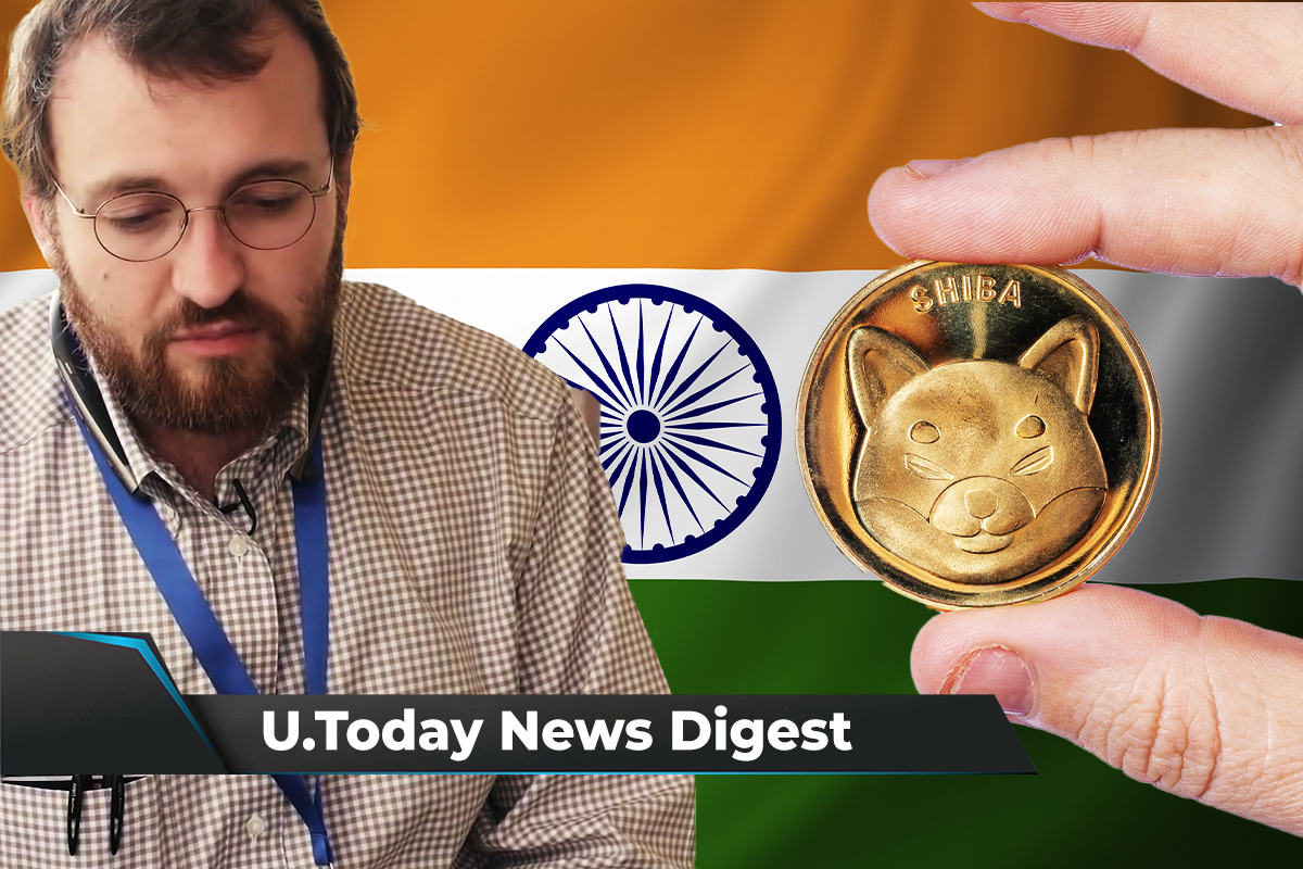 Ripple Exec Joins Fireblock, Shiba Inu Listed on India's Oldest Crypto Exchange, Charles Hoskinson Slams IMF: Crypto News Digest by U.Today