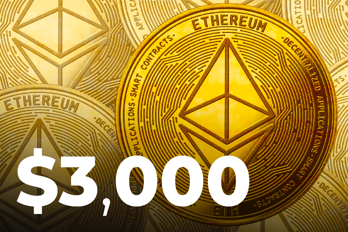 Here's The Reason Why ETH Rose Back Above $3,000