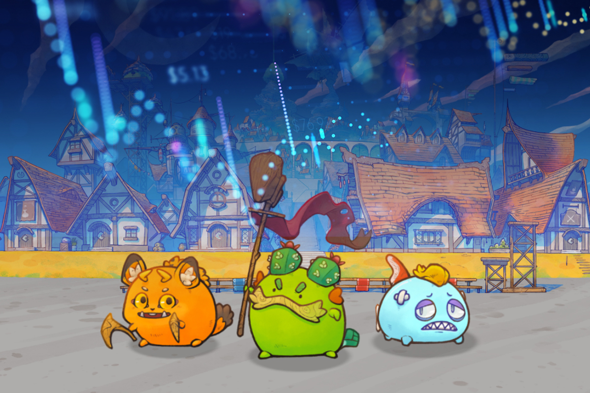 Axie Infinity's Price Sets New All-Time High After Soaring 1,900 Percent in Three Months