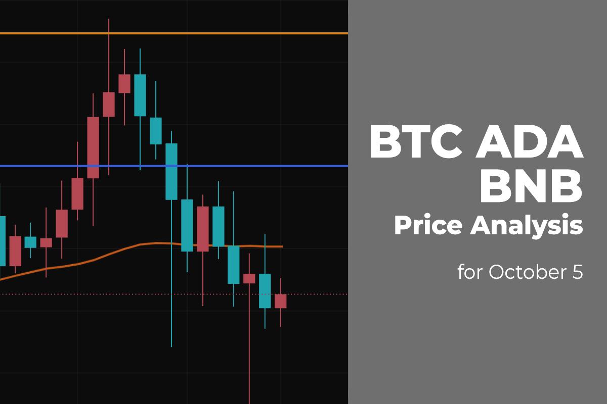 BTC, ADA, and BNB Price Analysis for October 5