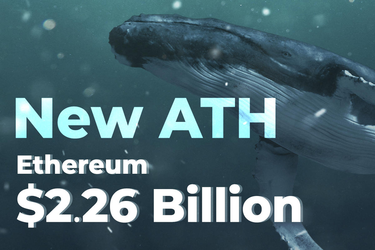 $2.26 Billion in Ether Moved by Whales as Ethereum Miner Balances Hit New All-Time High
