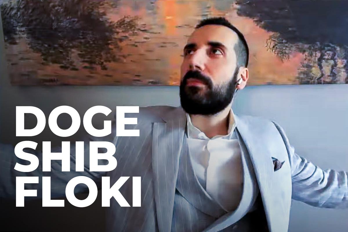 Influencer David Gokhshtein Draws Attention to DOGE, SHIB, FLOKI Massive Rise
