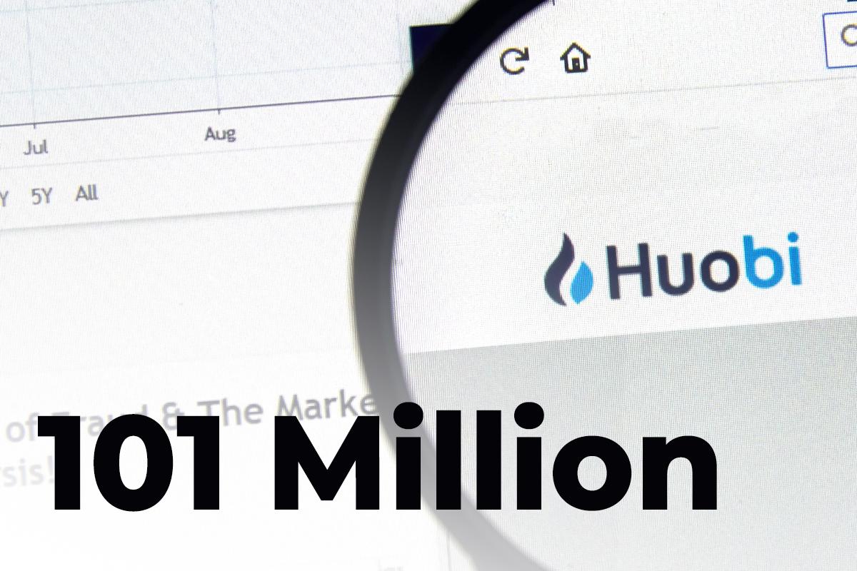 Ripple Shifts Whopping 101 Million, Sending Part to Huobi Platform