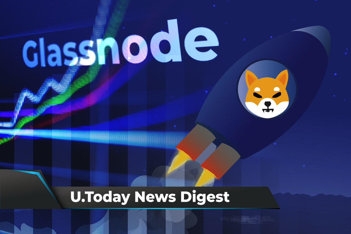 SHIB Makes the News Achieving Several Major Wins, Glassnode Reports Warning Sign for Market: Crypto News Digest by U.Today