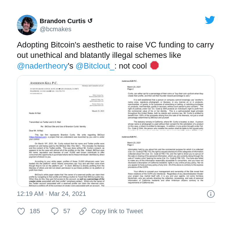 BitCout hit by 'cease and desist' letter from Anderson Kill