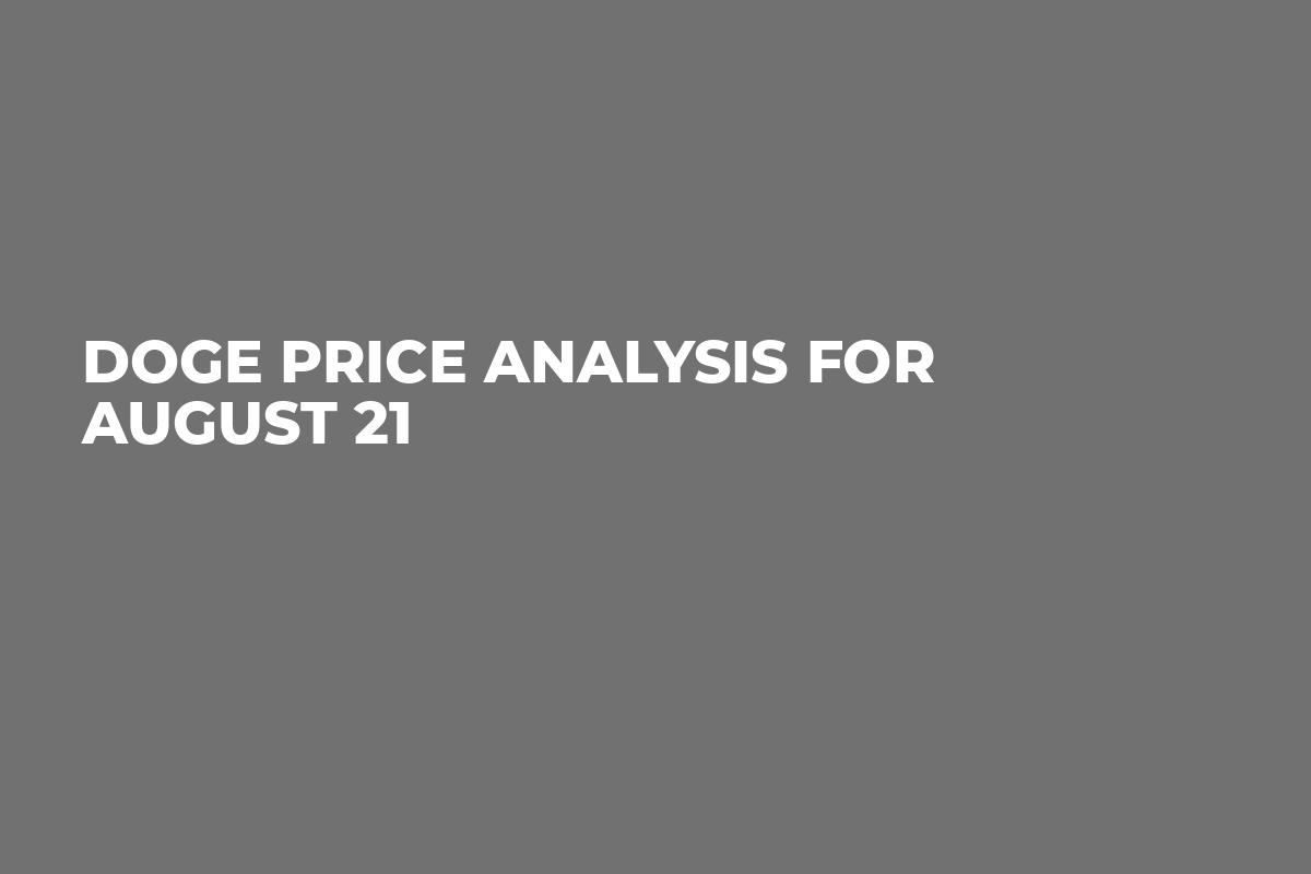 DOGE Price Analysis for August 21