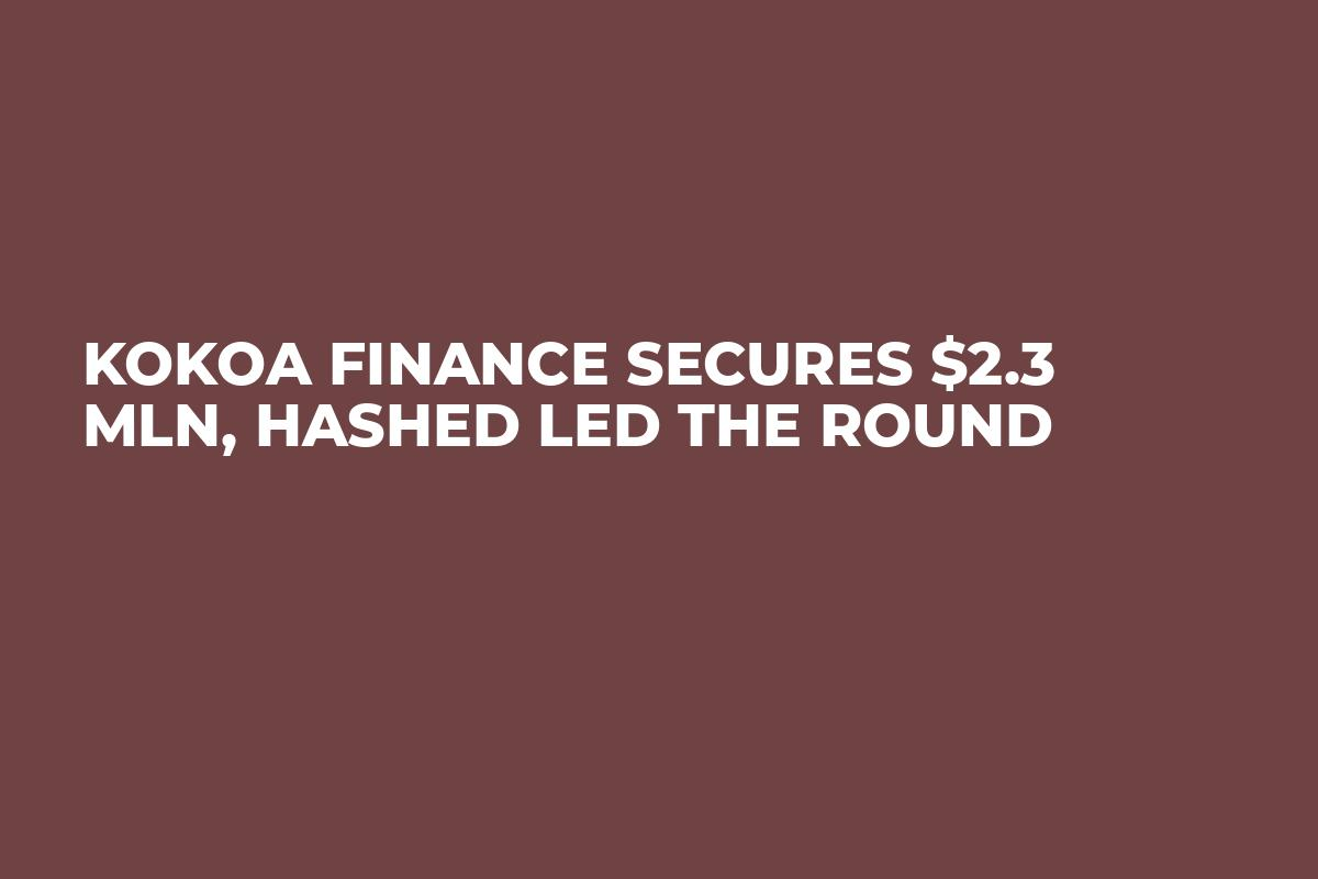 Kokoa Finance Secures $2.3 Mln, Hashed Led The Round